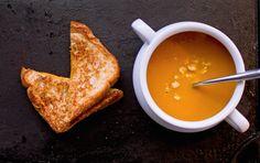 Ginger Coconut Carrot Soup #vegan #healthy #soup #ginger