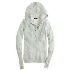 J.Crew Collection cashmere getaway hoodie.