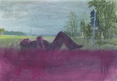 Peter Doig (b. 1959)  Grasshopper  signed, titled and dated 'GRASSHOPPER 99 Peter Doig' (on the reverse)  oil and watercolor on paper  16 x 23¼ in. (40.6 x 59.1 cm.)  Painted in 1999. Price Realized   $181,000  Estimate $150,000 - $200,000