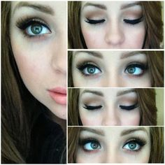 My Favorite Everyday Matte Eye Look. Yeah this won't happen everyday. Probably not even every week... #EyeMakeupBlue Makeup Goals, Makeup Inspo, Makeup Inspiration, Makeup Tips, Makeup Geek, Make Up Looks, Beauty Make-up, Beauty Hacks, Beauty Dupes