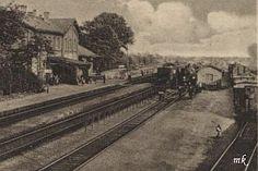 Stacja Benau 1929 r.