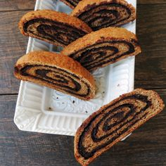You Were Right: Vegan Chocolate Peanut Butter Rolled Bread .. jaw dropping!