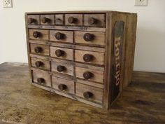 This is what I can do with all my wood crates!