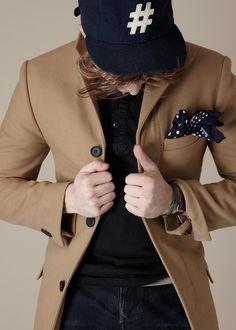 matthewaperrone:  Outtake: Dillon Burke for thread & salt Shot at Sandbox Studio  _ Coat & shirt by Club Monaco, undershirt by Uniql...