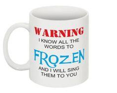 FREE SHIPPING! Disney Frozen 11oz. Coffee Mug Tea Cup Disneyland Magic Kingdom World Olaf Elsa Anna Arendelle Cups Mugs Gift