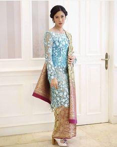 Kebaya Pink, Vera Kebaya, Batik Kebaya, Kebaya Dress, Model Kebaya Brokat Modern, Modern Kebaya, Baju Kurung Moden Lace, Indonesian Kebaya, Kebaya Wedding