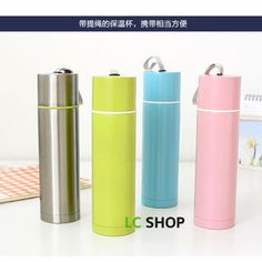 Buy 'Lazy Corner – Stainless Steel Vacuum Flask' with Free International Shipping at YesStyle.com. Browse and shop for thousands of Asian fashion items from China and more!