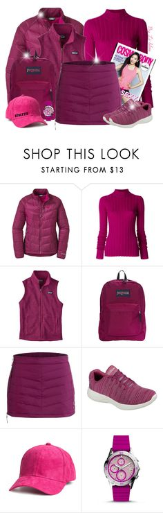 """""""~ Athletic Woman ~"""" by li-lilou ❤ liked on Polyvore featuring Outdoor Research, Theory, Patagonia, JanSport, adidas, Skhoop, Skechers, H&M and FOSSIL"""