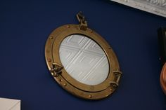 #Mirror mirror on the wall... Brass #porthole mirrors at #Annapolis #Maritime #Antiques