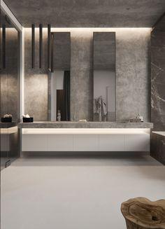 Stone bedroom Sergey Makhno Architects on Behance
