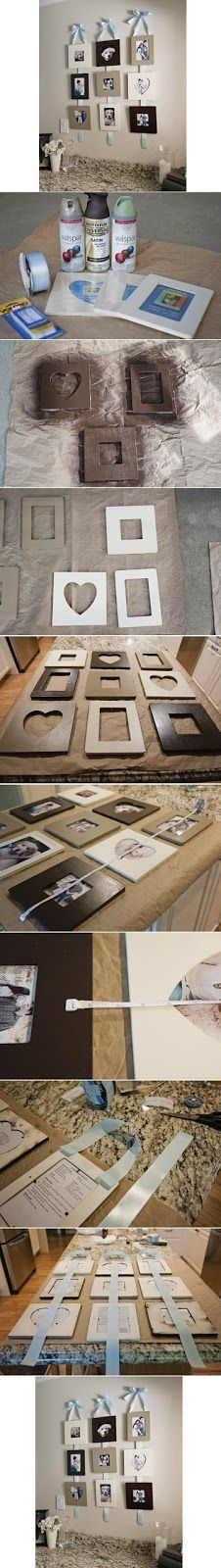 A 1 Nice Blog: Stylish Wall Photo Frame