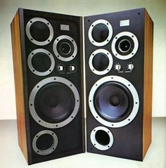 High End Audio For The Passionates Pro Audio Speakers, Monitor Speakers, Hifi Audio, Tower Speakers, Audio Room, Speaker Design, High End Audio, Loudspeaker, Audio System