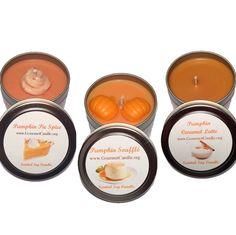 Pumpkin Spice, Pumpkin Soufflé & Pumpkin Caramel Latte! 🎃🍂🍁🕯