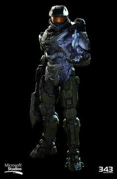 Master Chief and Cortana - Halo 4