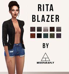 missParaply Blazer http://missparaply.com/ritablazer.html