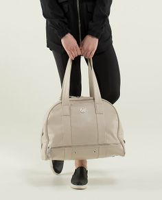 Om For All Bag - Structured and durable, this water-resistant tote has enough room to take us from work to play and everywhere in between.