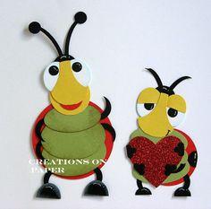 ladybugs! Stampin' Up Punch Art