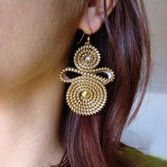 idea for zipper earrings