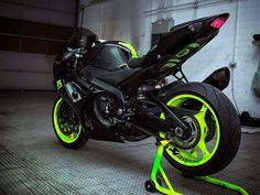 2014 Suzuki GSX-R 1000 K10 Green Fluorescent