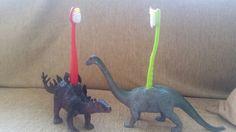 #diy #dinoforkids #happy #toothbrush