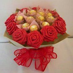 """Résultat de recherche d'images pour """"bouquet paper chocolate"""""""