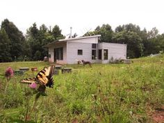 Prefab Homes: Passive Solar House Kits: Green Modern Kits!: Modern Prefab Home : Off Grid Cistern Is FULL!