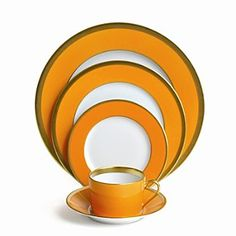 Haviland Laque de Chine Mandarin Gold