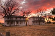 Officers Quarters at Old Fort Hays