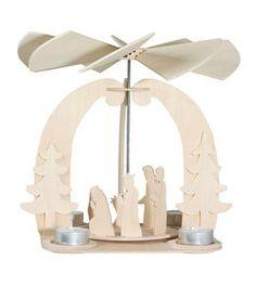 Holzbausatz Weihnachtspyramide (Easy-Line)