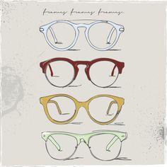 retro glasses, eye glasses clipart, free clipart, art clip, free vector, free vectors