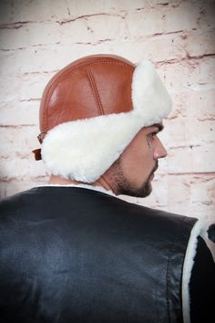 Mens fur hats - headdress made of natural fur is made for real men. Fur Hats, Mens Fur, Trendy Collection, Russian Fashion, Real Men, Headdress, Hats For Men, Winter Hats, Cap