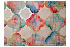 Jennifer Moreman, Fr�ulein Maria on OneKingsLane.com Wall hanging. Love the pattern. $169