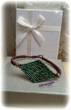 Βραχιόλι με γνήσιες χάντρες miyuki  miyuki bracelet Hashtag Finder, Garment Bags, Crochet Earrings, Diy Crafts, Engagement, Bracelets, Jewelry, Jewlery, Bijoux