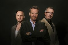 Bryan Cranston, Aaron Paul, Vince Gilligan do a 'Breaking Bad' autopsy.