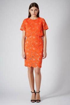 Premium Lace Pencil Dress