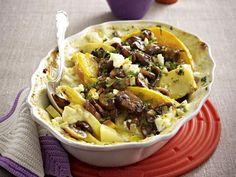 Vegetarische Aufläufe – Ofen-Hits mit viel Gemüse - kuerbis-kartoffel-auflauf4  Rezept