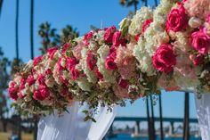 Nicole & Adrian - 12.31.15  #wedding #newyearsevewedding #sandiegowedding #weddings #tablescape #pinkbouquet #socalwedding #weddingtablescape #weddingdecor #altar #weddingaltar