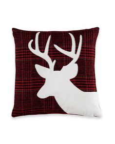 Nina Home by Nina Campbell Pine Mountain Plaid Deer Decorative Pillow Sewing Pillows, Diy Pillows, Decorative Pillows, Plaid Throw Pillows, Wool Pillows, Picture Templates, Nina Campbell, Christmas Crafts To Make, Rustic Rugs