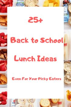 20 Surprisingly Easy Lunch Ideas Your Kids Will Love We all run out of ideas to make creative food our kids will actually eat and love.Browse 20 Surprisingly Easy Lunch Ideas Kids w Easy Lunches For Kids, Back To School Lunch Ideas, School Lunch Box, After School Snacks, Kids Meals, Easy Snacks, School Ideas, List Of Sandwiches, Thing 1