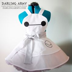 Baymax Big Hero 6 Cosplay Pinafore by DarlingArmy.deviantart.com on @DeviantArt
