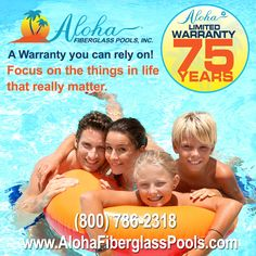 When you own an Aloha Fiberglass Pool you can focus on the things in life that really matter. Call (800) 786-2318 or email sales@alohafiberglasspools.com to find a builder in your area.