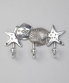 This DEI Silver Oceanic Wall Hook by DEI is perfect! #zulilyfinds