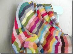 Striped blanket