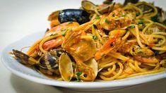 Food N, Food And Drink, Pasta Con Broccoli, Pasta Recipes, Cooking Recipes, Gnocchi, Japchae, Ethnic Recipes, Fagioli