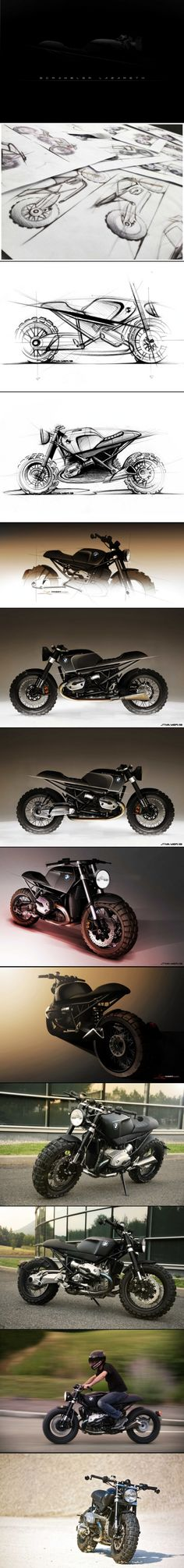 One of the best looking bikes ever LAZARETH SCRAMBLER- BMW R1200R - created via http://pinthemall.net