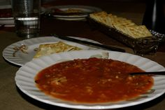 I'd describe this soup as half way between Borscht and Hamburger Soup.soda crackers with butter are a given when servin. Cabbage Roll Soup, Cooked Cabbage, Cabbage Rolls, Amish Recipes, Soup Recipes, Cooking Recipes, Yummy Recipes, Free Recipes, Cooking