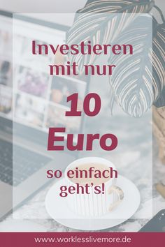 Money saving tips 616359898982461525 - Investieren mit 10 Euro – so einfach geht's! Make Easy Money, Make More Money, Extra Money, Cash From Home, Earn Money From Home, Savings Planner, Budget Planer, Jobs, Budgeting Money