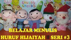 BELAJAR MENULIS HURUF HIJAIYAH # SERI 3 ll Finger Family Education