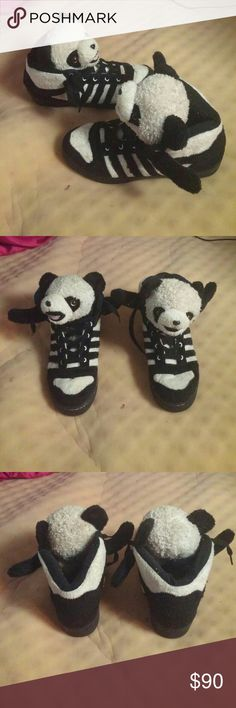 Adidas panda shoes Gently used Adidas Shoes Sneakers