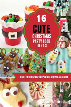 Why not decorate with food? These cute Christmas food ideas satisfy in more ways than one!